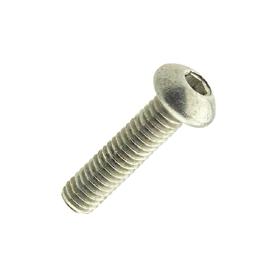 skrue ISO 7380 innvendig sekskant unbrako buttonhead elforsinket